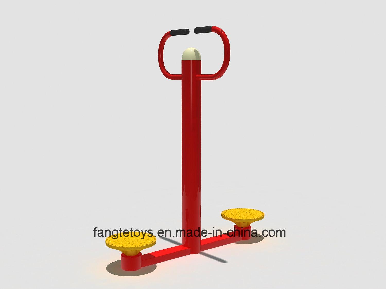 New Design Outdoor Fitness Equipment Park Amusement Equipment Waist Trainer FT-Of315