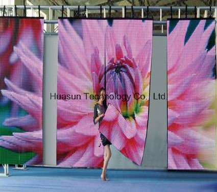 Soft LED Display (FLC-1600) /Stage Backdrop/ LED Curtain