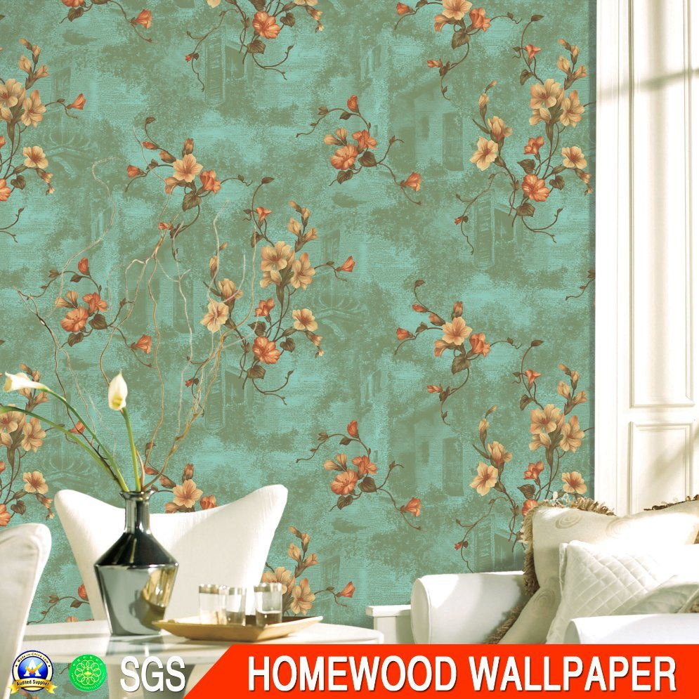 Italy Design Deep Embossed Vinyl Wallpaper (JG306 53CM*10M)