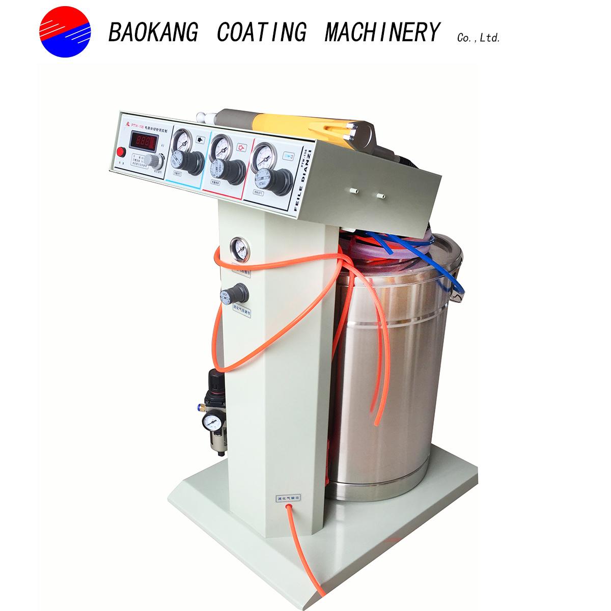 Numerical Control Electrostatic Powder Coating Gun