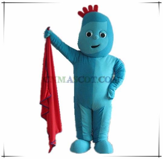 Iggle Piggle Cartoon Character Costume Good Quality