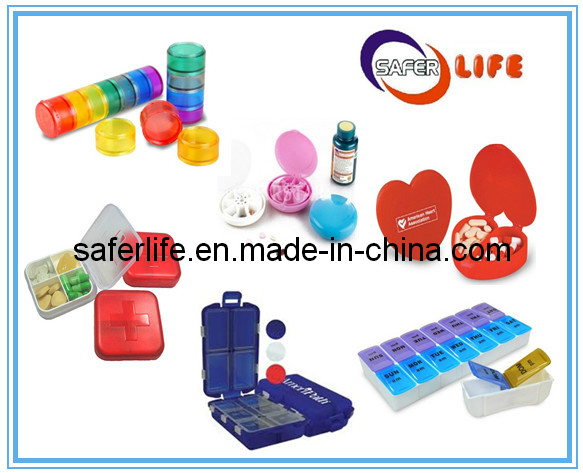 Promotional Gift Personal Plastic Pill Box Prototype Boxes Seven Day Pill Case