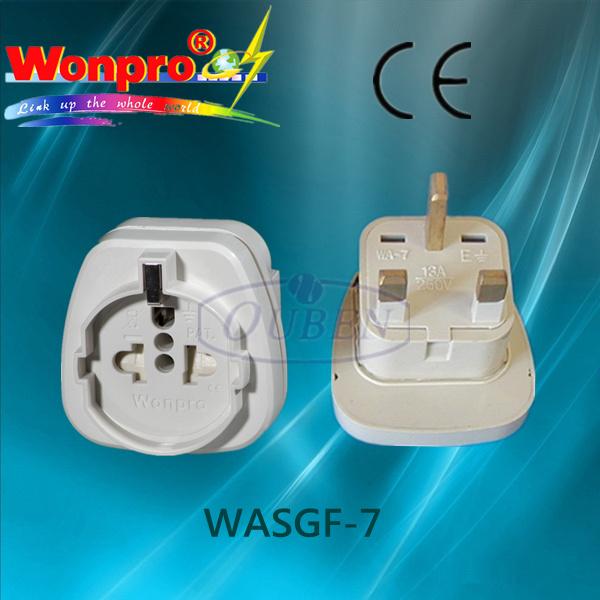 Multi - Purpose Travel Adaptor (Socket, Plug)(WASGF-7)