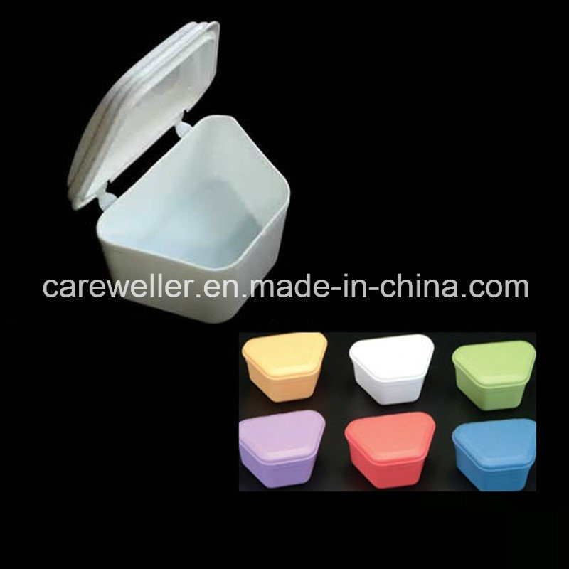 Plastic Dental Denture Box/Teeth Box