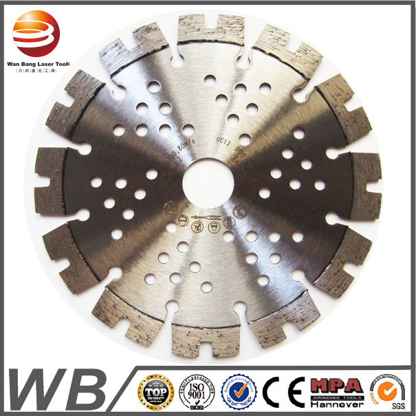 Laser Welded Diamond Saw Blades for Asphalt/Green Concrete