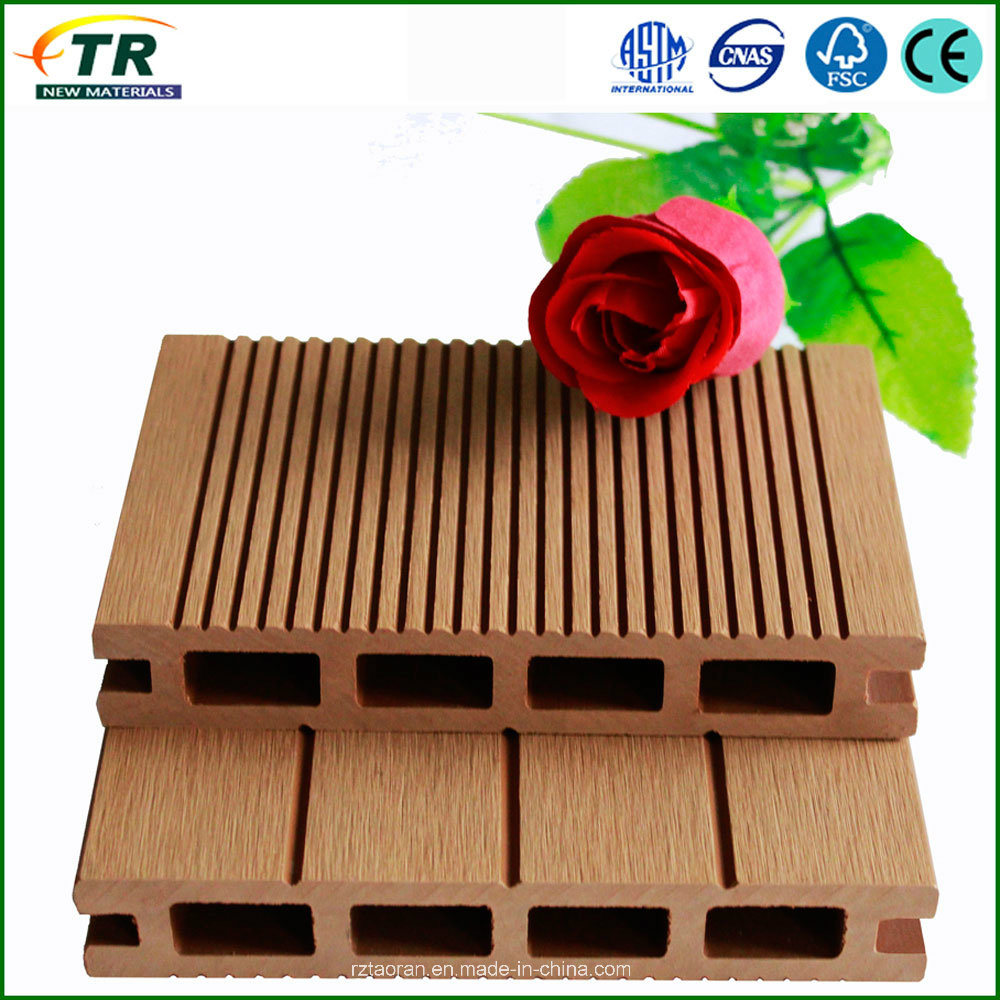 Manufacture Wood Plastic Composite Decking Flooring
