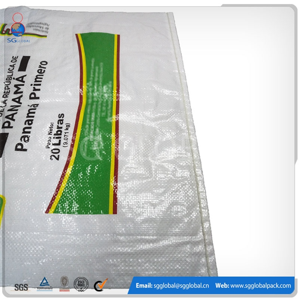 25kgs 50kgs PP Woven Bag for Rice Wheat Grain