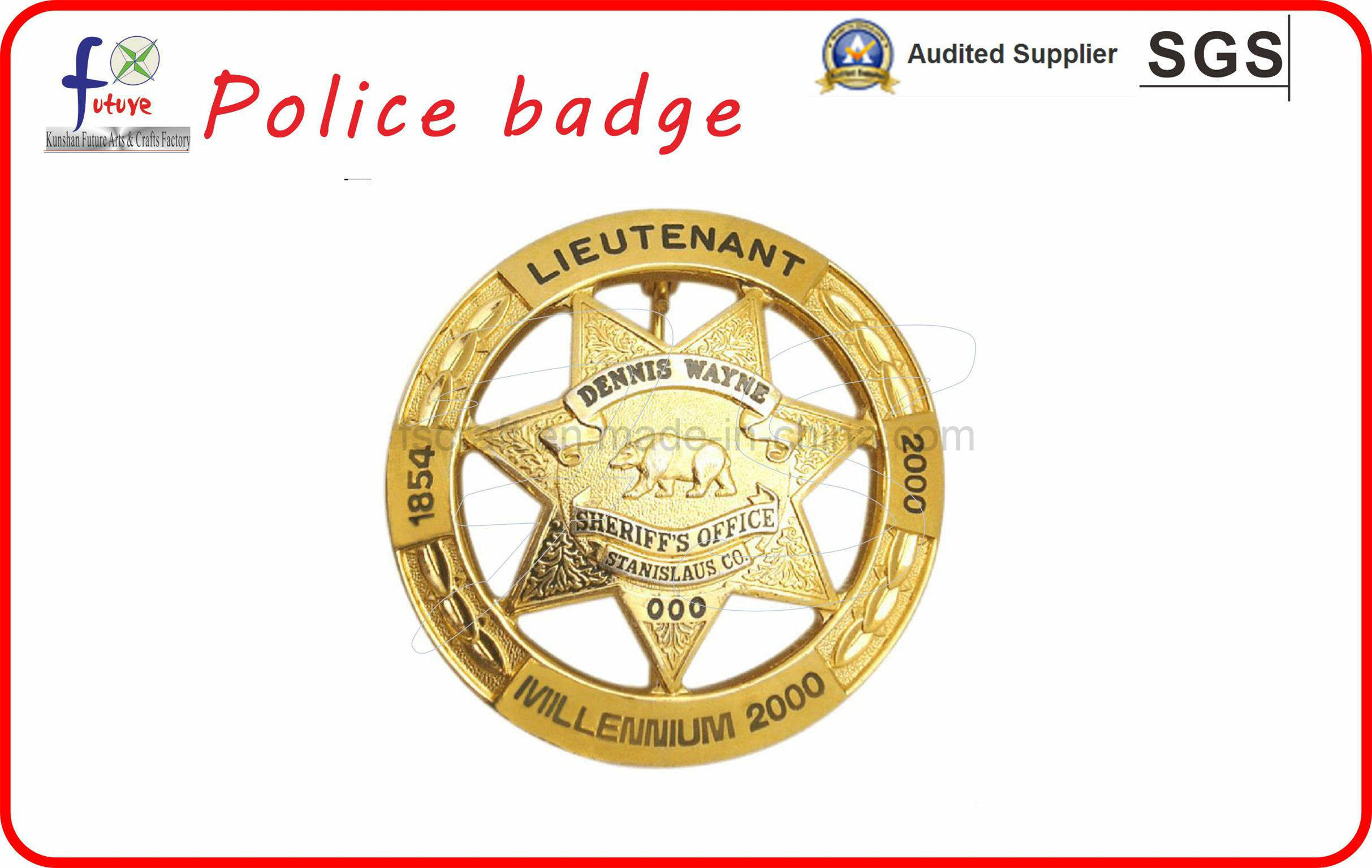 Police Badges Army Badges with High Quality