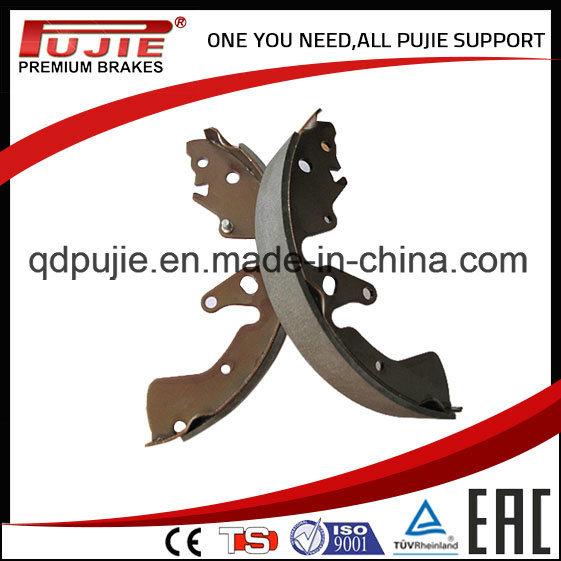 Asbestos Free Semi Metallic Brake Shoe for Japanes Korean Car (PJABS003)