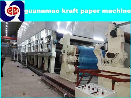 Henan Hot Sale 1092mm Paper Making Machines, Recycling Machine, Kraft Paper Machine Price