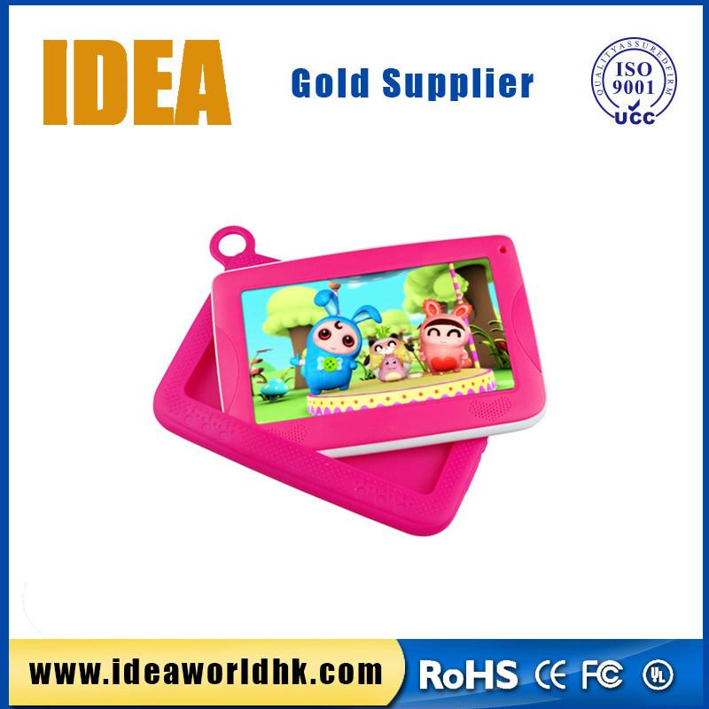 7 Inch Rk3126 Quad Core 1024X600 Tn Screen 1GB+8GB Kids Tablet
