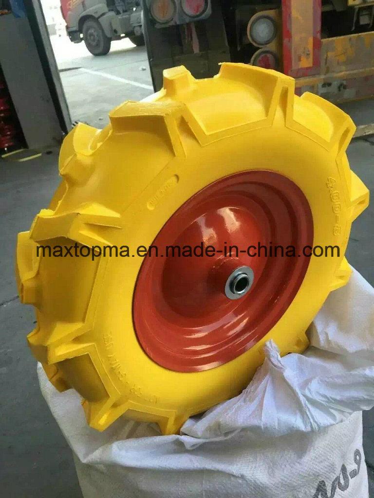 400-8 R1 Pattern Maxtop Solid PU Foam Wheel