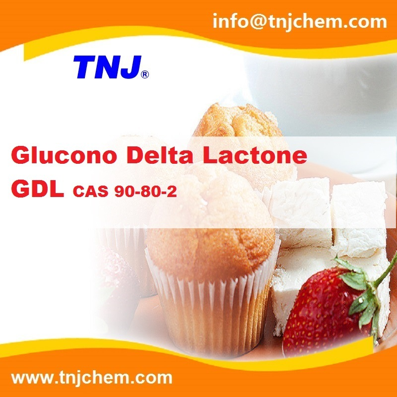 High Quality Glucono Delta Lactone Gdl Food Grade CAS 90-80-2
