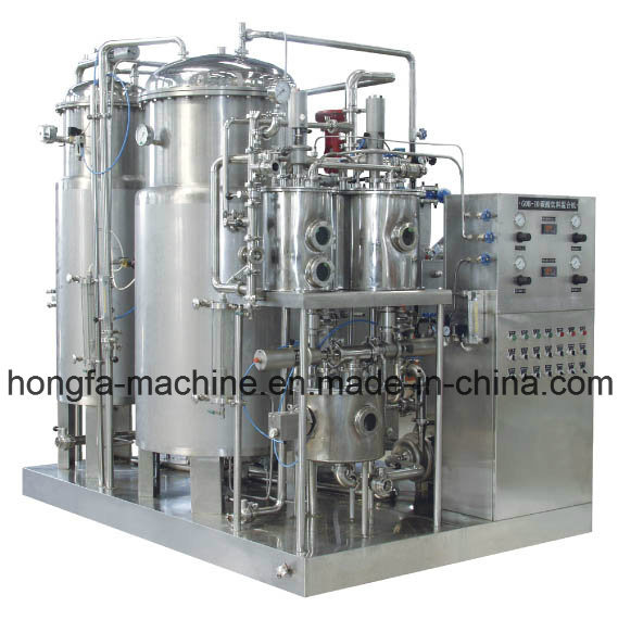 Carbonated Water Mixing Machine for Carbonated Beverage Bottling Process