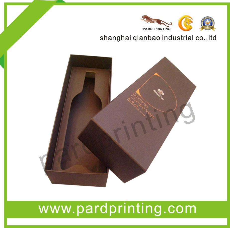High Quality Customized Wine Boxes (QBB-1466)