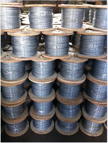 Galvanized Steel Wire Rope 6X7/ 7X7/6X19/6X37 for Transport Usage