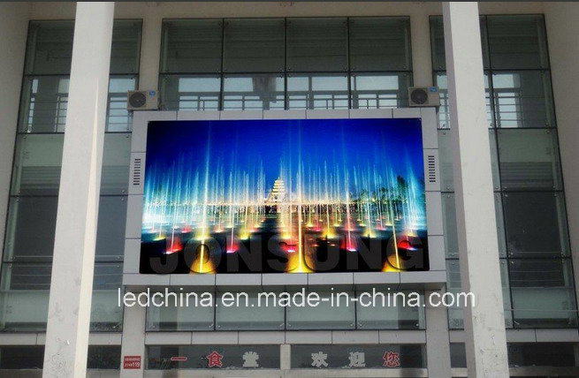 High Refresh Rate Outdoor pH10mm LED Video Wall