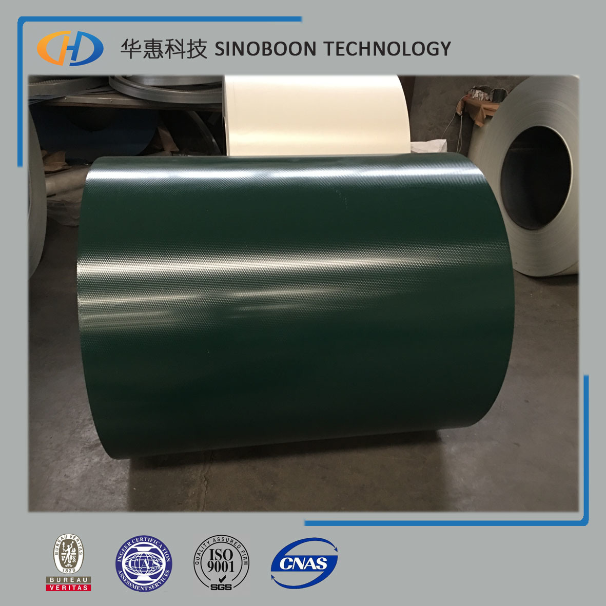 PPGL PPGI Color Coated Pre-Painted Steel Coil with ISO9001
