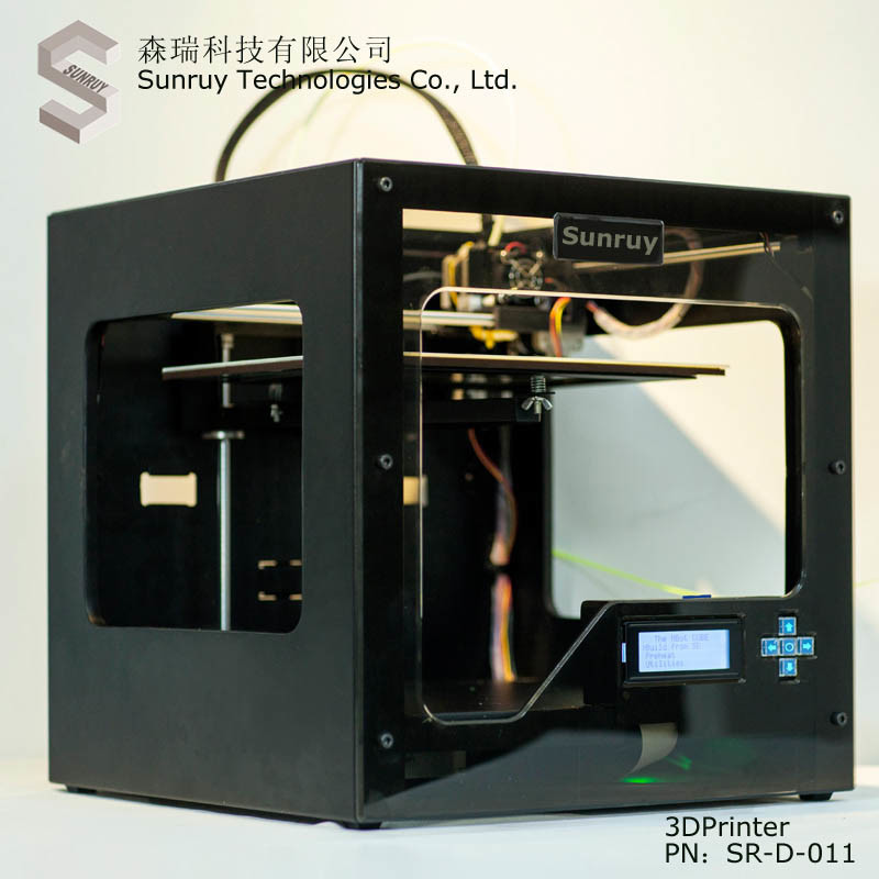 High Quality 3D Printer with Double Nozzle