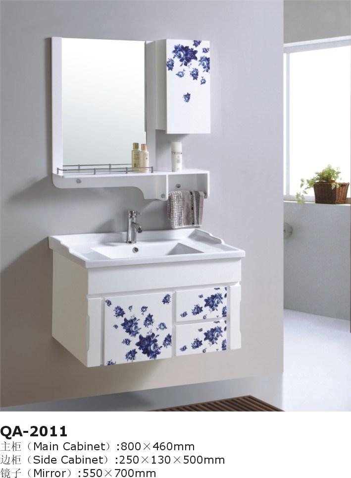 White Wall Mounted Modular Bathroom Vanities GBW047