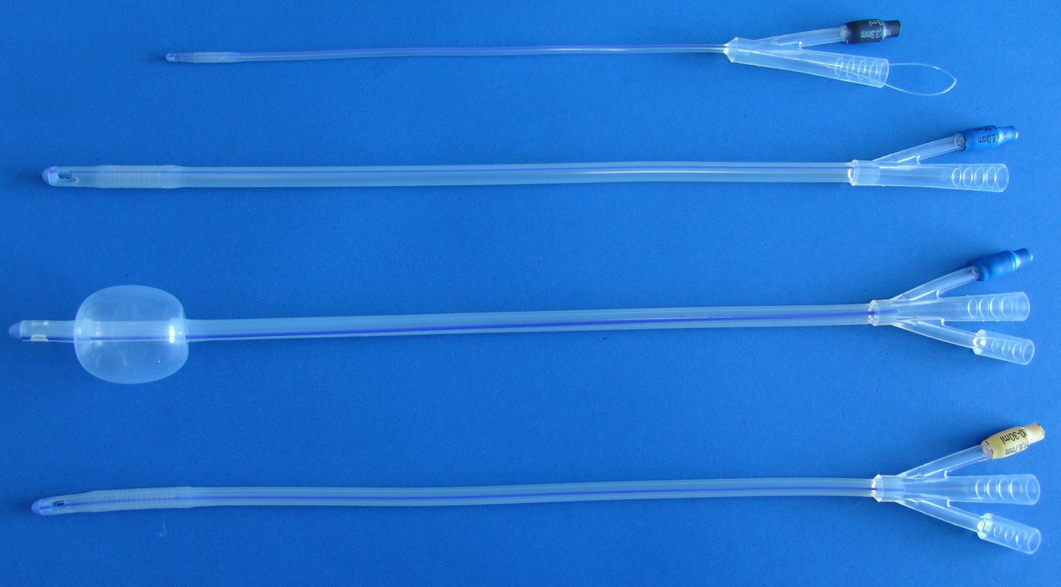 Silicone Foley Catheter for Single Use 2 Way