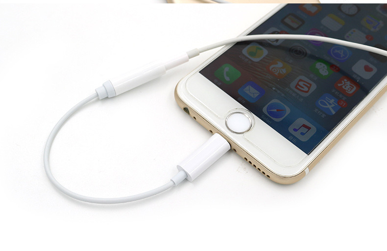 Plastic for iPhone7 to Headphone Adaptor
