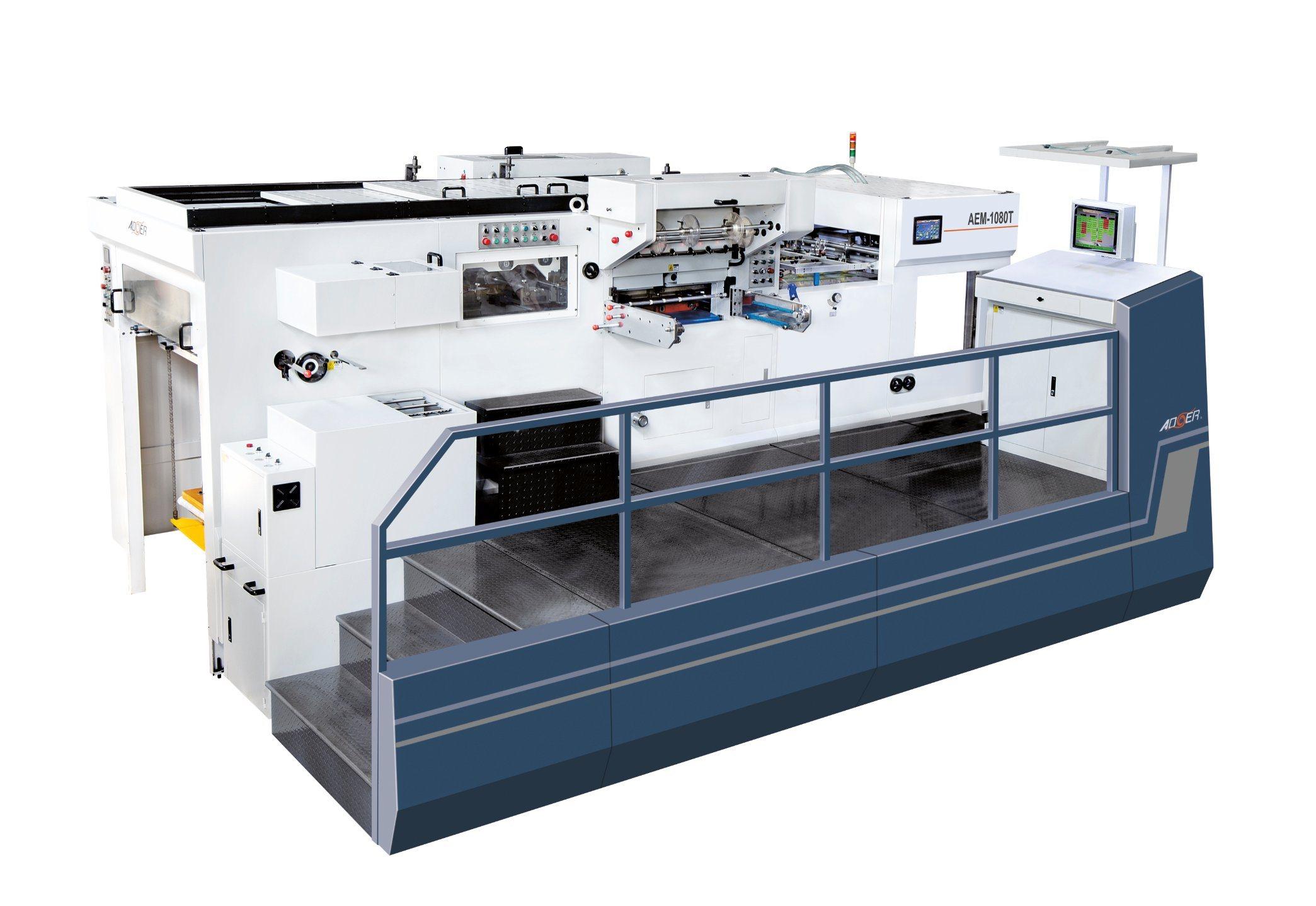 AEM-1080t Automatic Hot Stamping & Die Cutting Machine