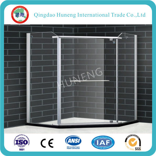 Tempered Shower Room /Shower Door Glass (clear, acid, figured all available)
