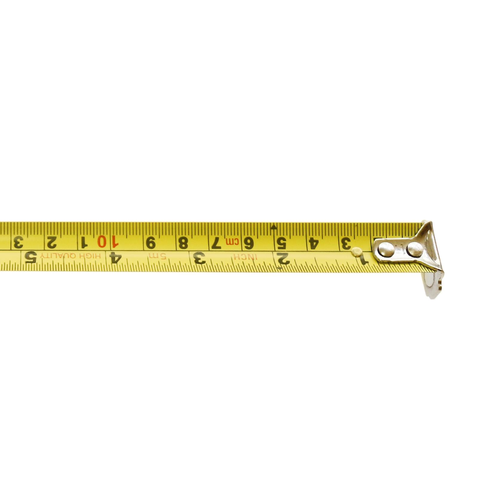 5m Auto Lock Steel Tape Measure with Nylon Coated Dual Blade
