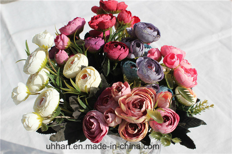 Cheapest Wholesale Artificial Rose Flower for Decor