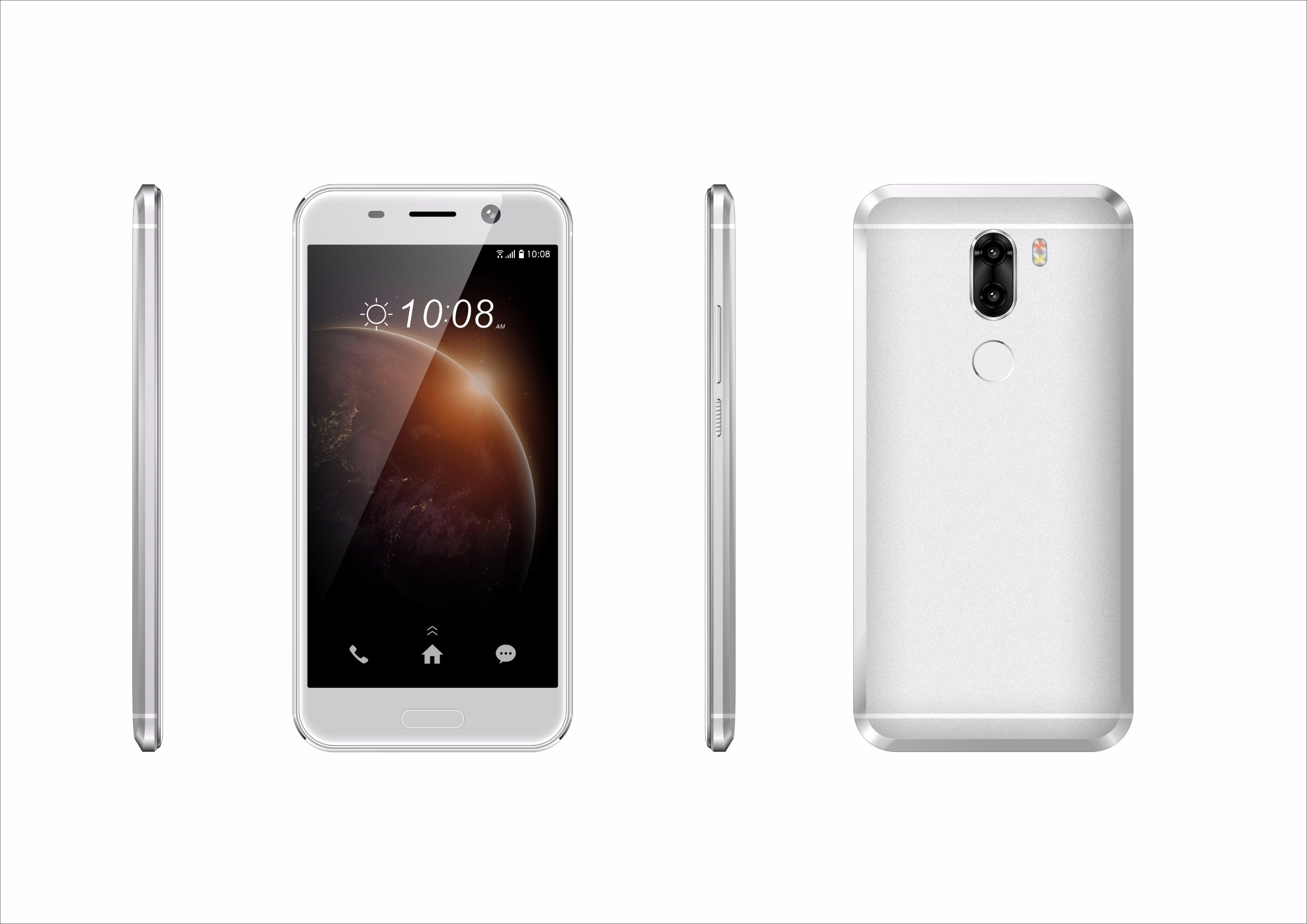 5.0 Inch Android Dual SIM Mtk6737 Quad Core 4G Lte Smart Phone (B5)