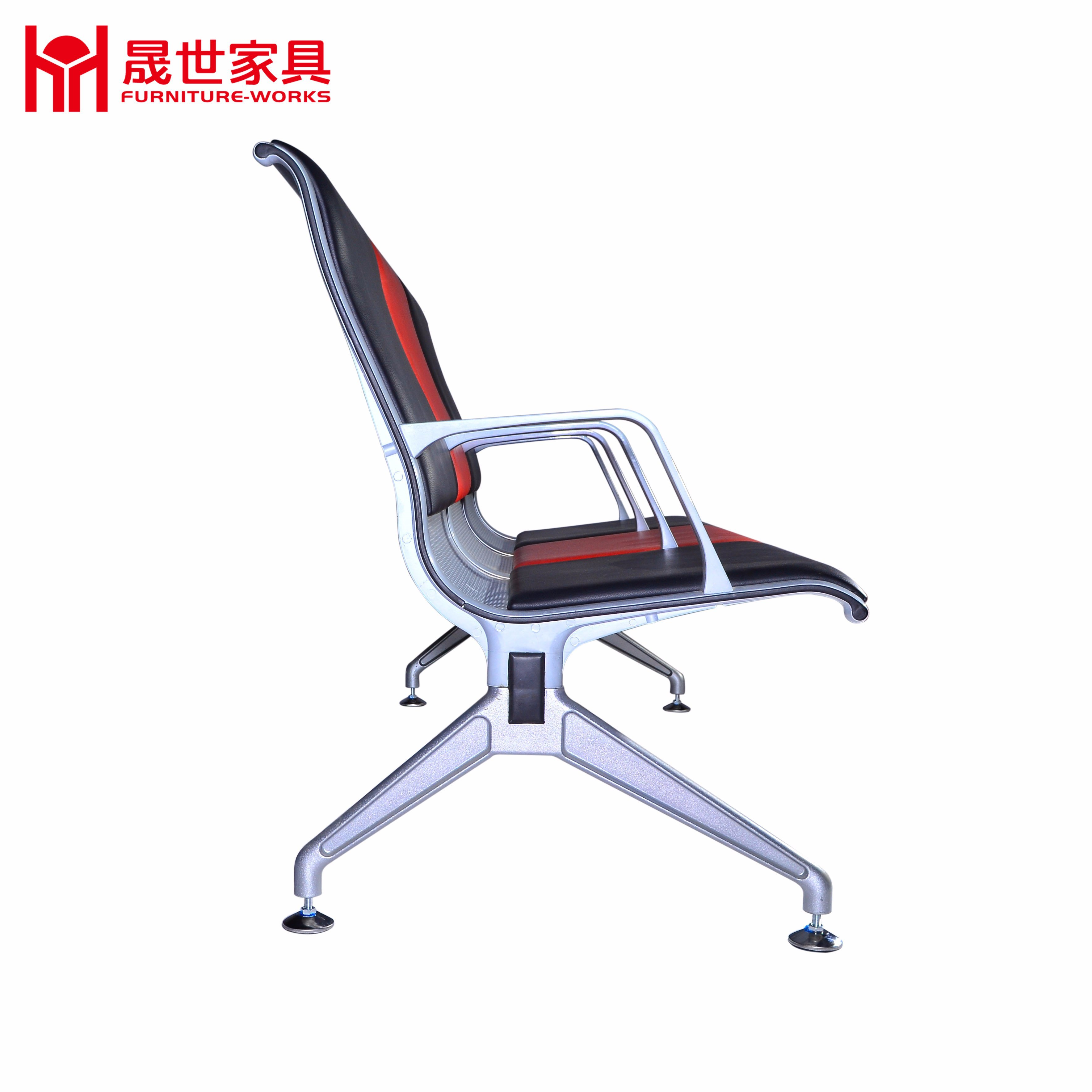 Modern Design Aluminum Alloy Public Waiting Chair / Airport Waiting Chairs / Waiting Room Chairs