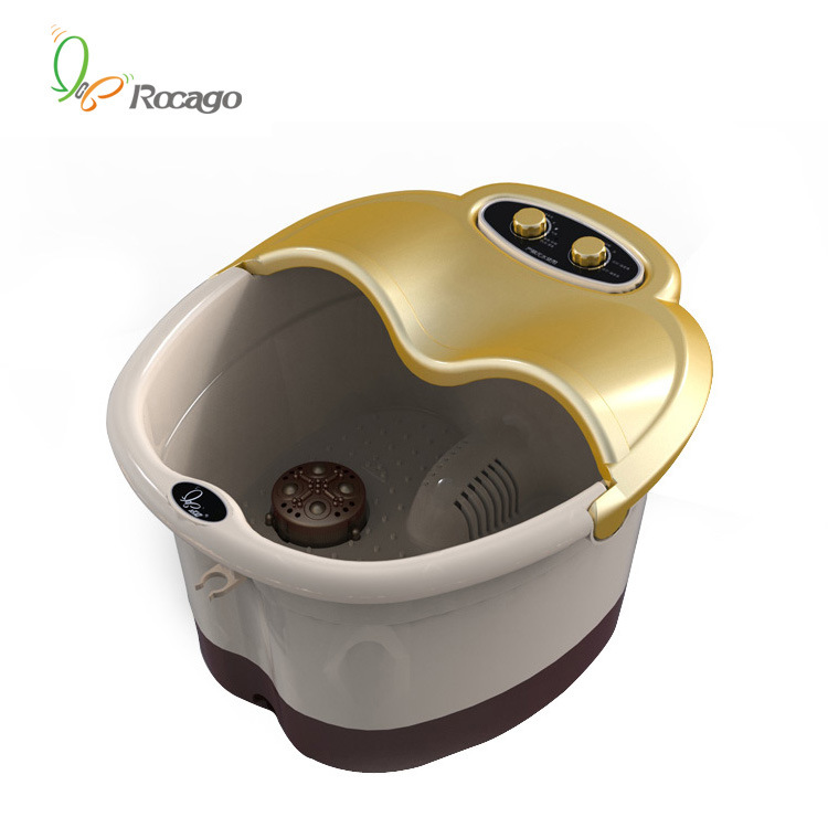 Roller and Arch Puncture Feet Massage Tub