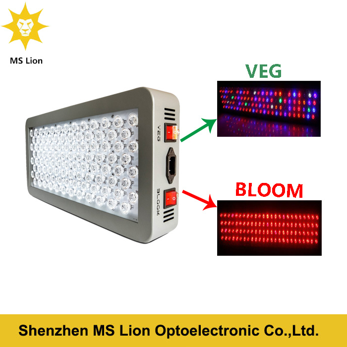 Platinum 300W Full Spectrum Dual Veg/Flower LED Grow Light
