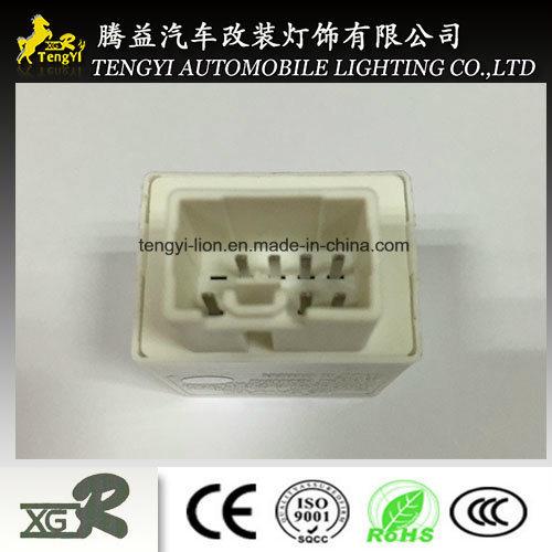 12V LED Electric Auto Mazda White Flasher IC Winker Relay