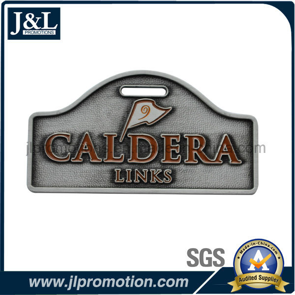 Customized Metal Luggage Tag for Golf & Country Club