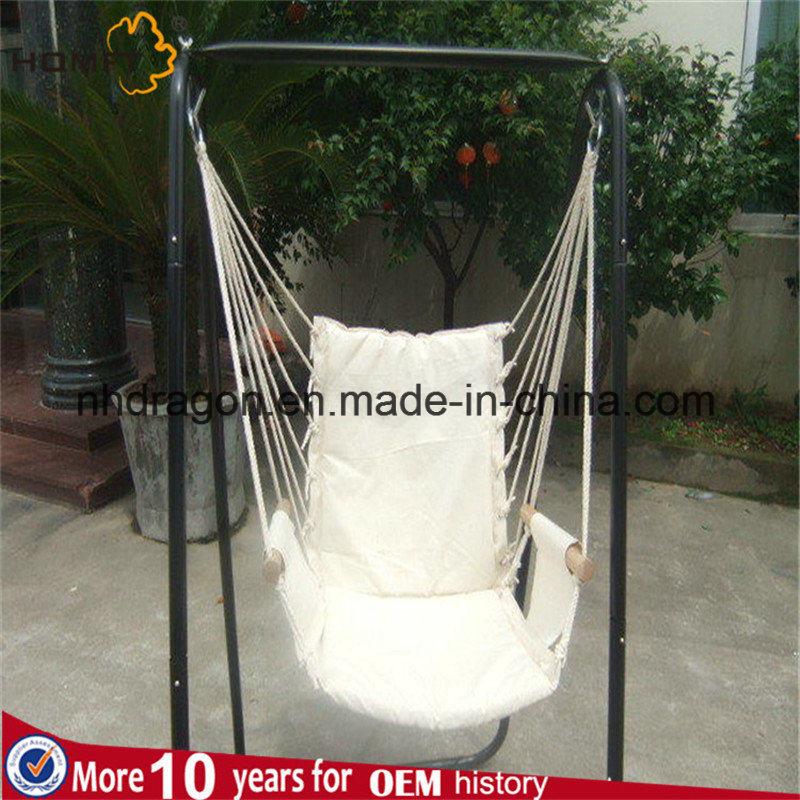 White Color Cotton Good Rest Hammock Hanger Chair