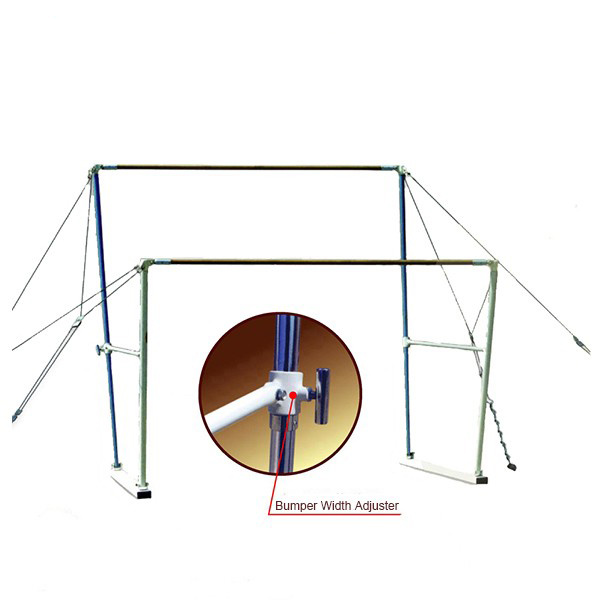 Chinese Manufacture Portable Gymnastics Horizontal Bar for Sale