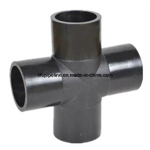 Large Diameter PE Butt Fusion Fittings for Water Supply SDR17
