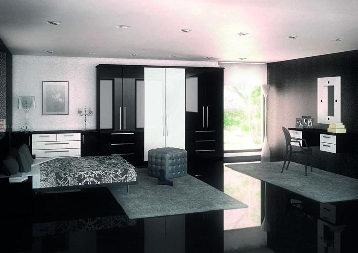 Low Water Absorption Super Black Porcelain Polished Tile