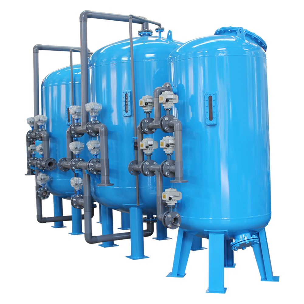 Circulating Water System Automatic Sand Media Water Filter (YL-MF-500)