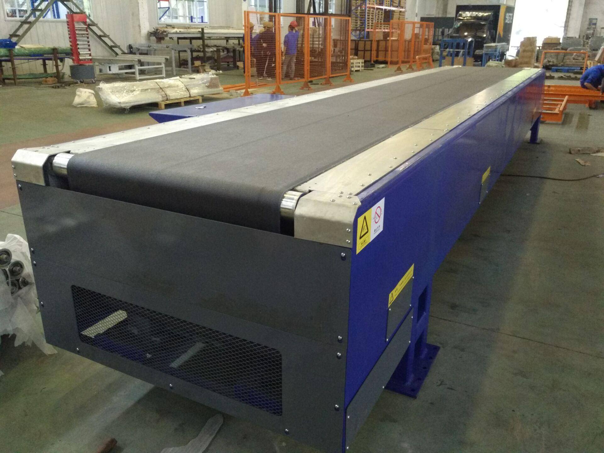 Telescopic Boom Belt Conveyor/ Truck Loading Expendable Conveyor