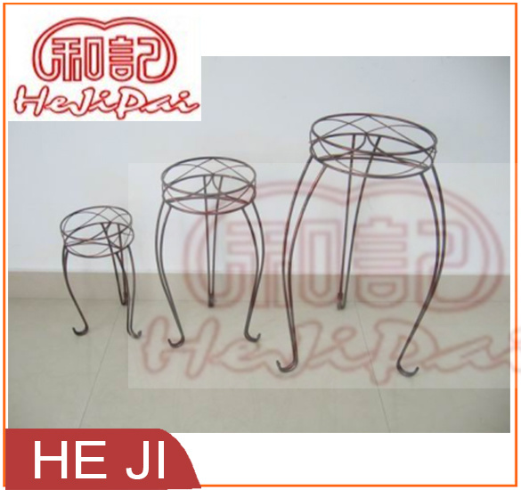 Set of Three Planter Stands for out-Door or in-Door Use
