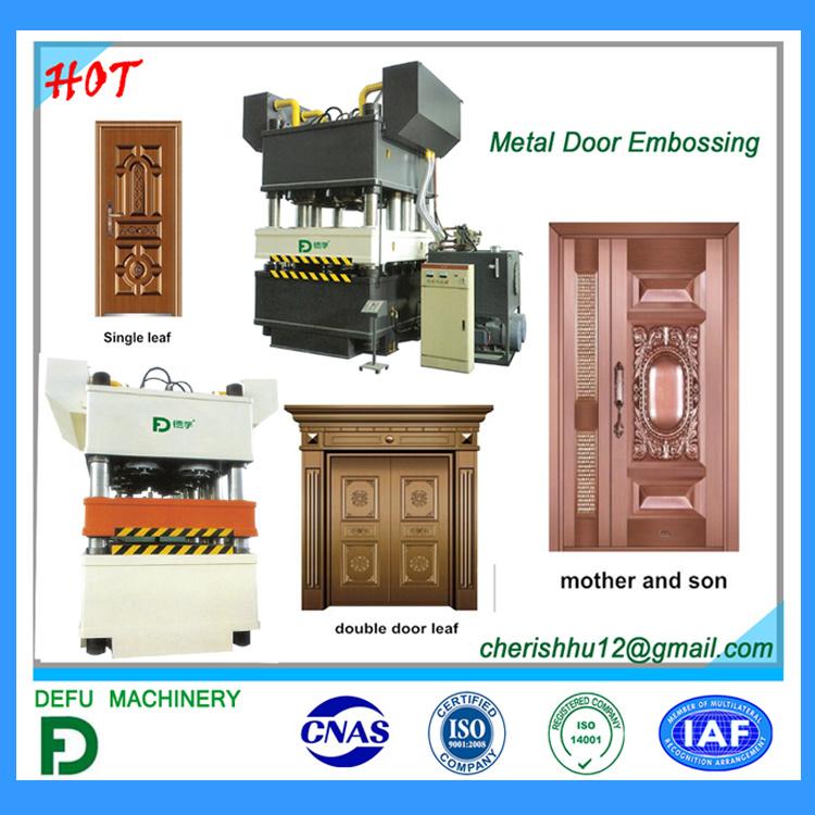 2017 Hydraulic Press Machine for Door
