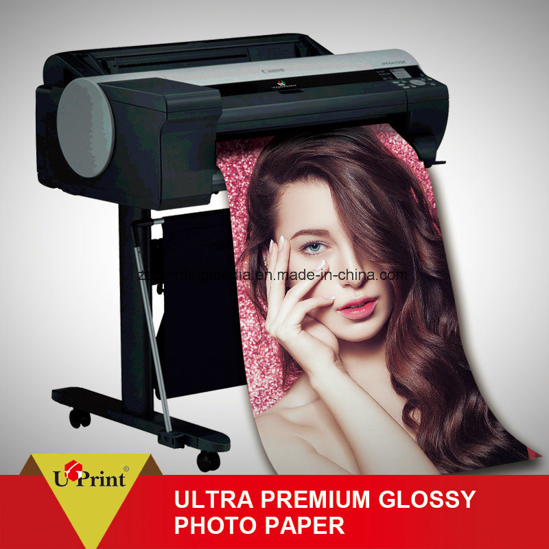 High Quality Format Inkjet Double Sides Glossy Photo Paper