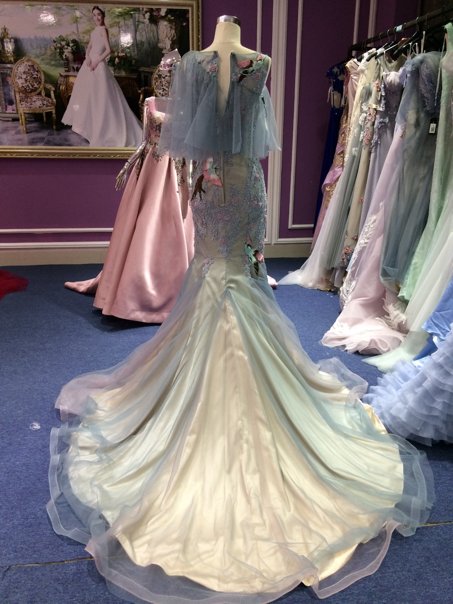 Mermaid 2017 Evening Dress Real Sample