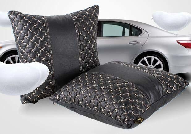 Car Back Pillow Lumbar Cushion Office Pillow