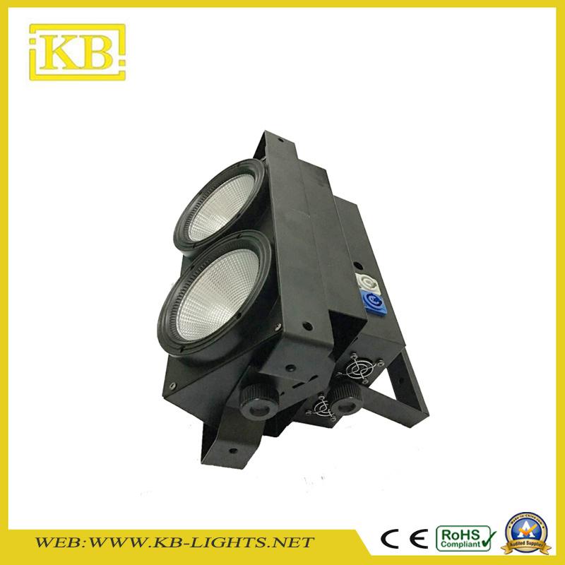 Hot Sale Model 2*100W LED COB Blinder