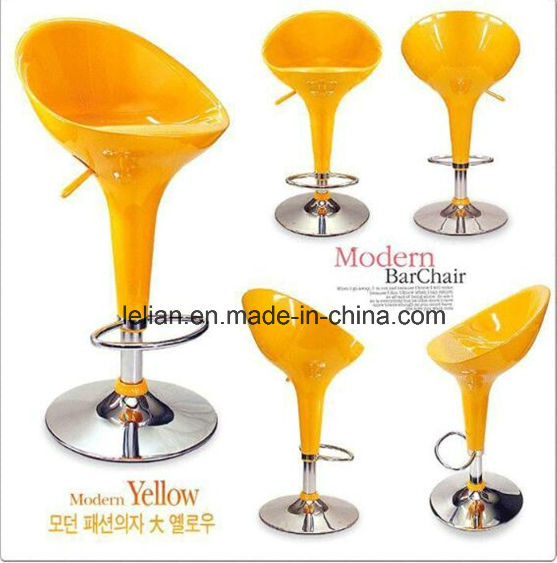 Modern ABS Bar Stool for Night Bar Furniture (LL-BC017)
