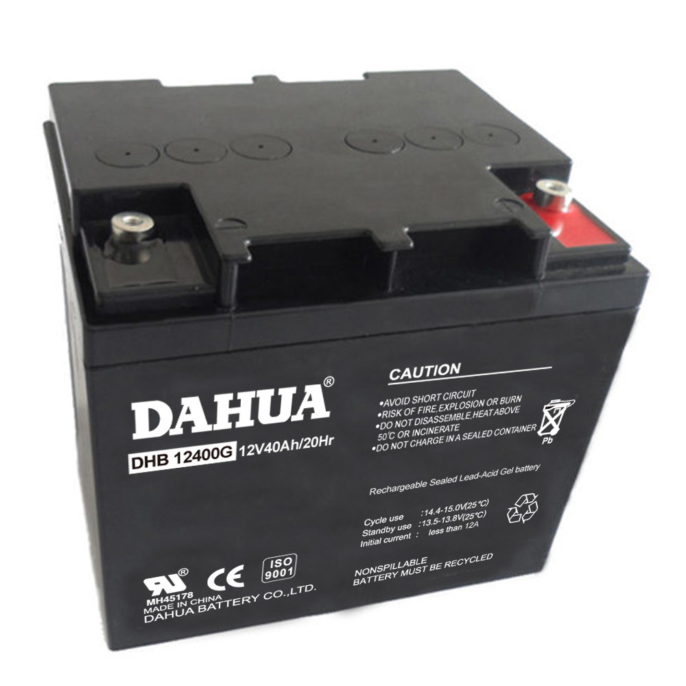 Hot Sale 12V 40ah Gel Solar Battery for Solar Systems